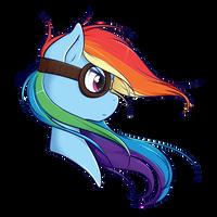Rainbow Dash by secret-pony