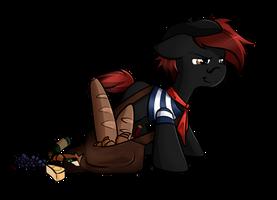 Rat de paquet by secret-pony