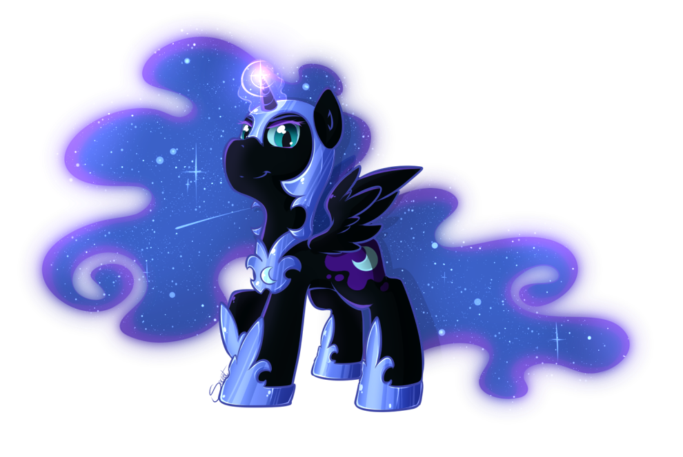 Filly Nightmare Moon by secret-pony on DeviantArt