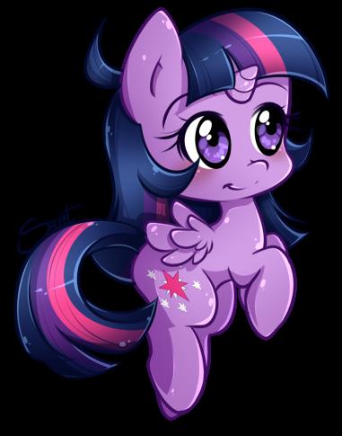 Chibi Twilight by secret-pony