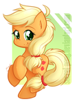 Chibi Applejack