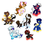 LS requests:Gemstone ponies and Parasitic crystals