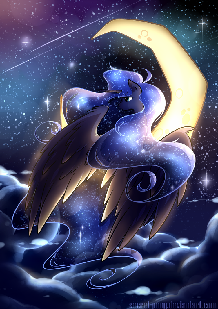 Luna by secret-pony