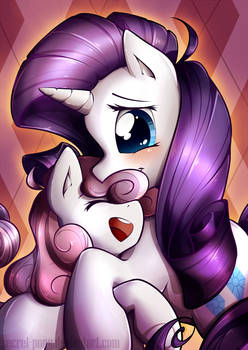 Sisterly Love: Rarity x Sweetie Belle