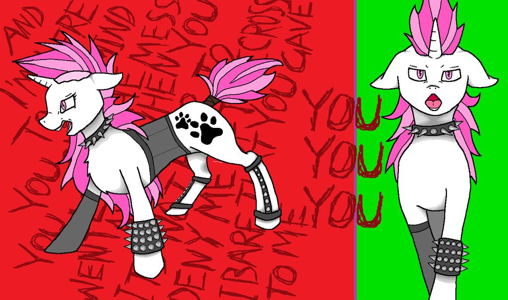 Punk Fuzzydreams by lillyleaf101
