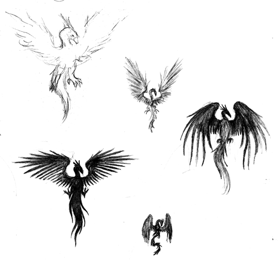 Phoenix Designs By Kiyarasabel On Deviantart