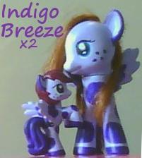 Indigo Breeze Custom Ponies