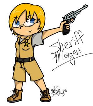 Art Trade - Sheriff Morgan