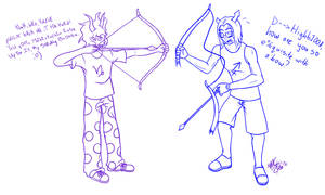 Homestuck - Archery Lessons