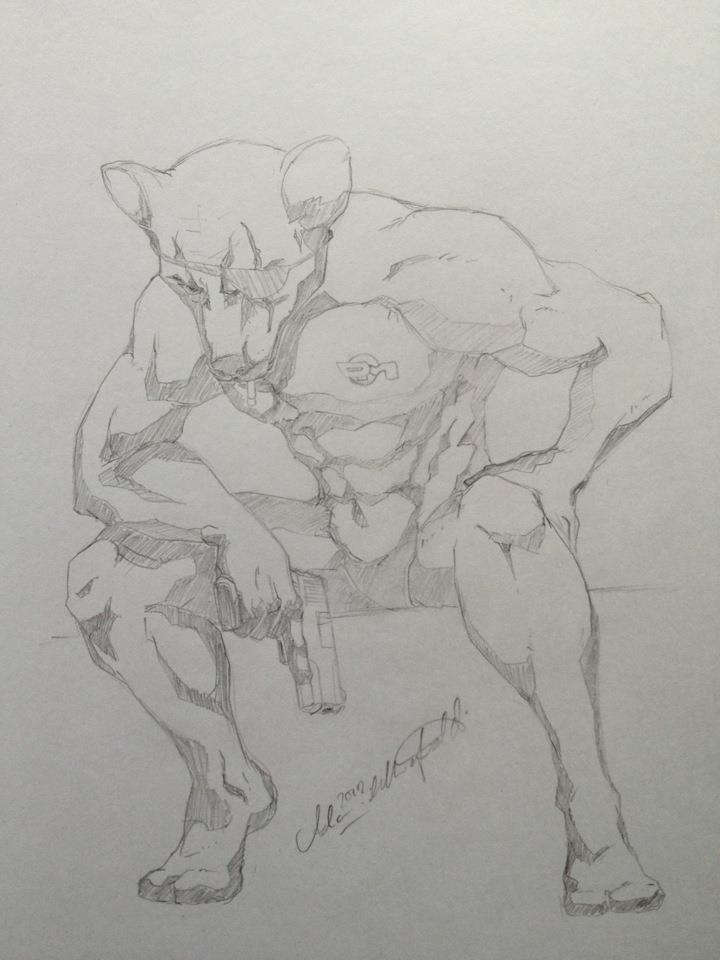 Dangermouse by InkZeitgeist