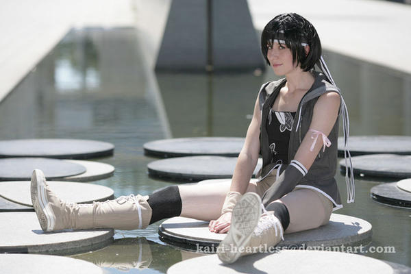 Yuffie Kisaragi - FF VII  AC by Kairi-Heartless