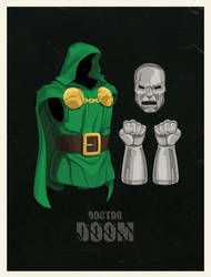 Doctor Doom Cos by two-pixels