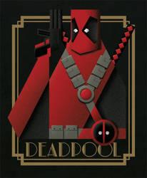 Deadpool deco by two-pixels