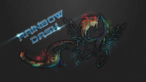Rainbow Dash Wallpaper by CallmeMH