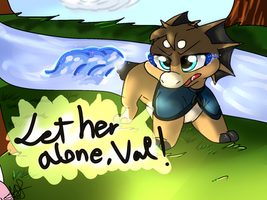 ~ Let Her Alone ~ by TheWarriorDogs