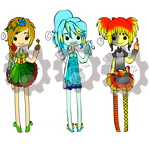 Insanitypunked Collab Elemental (2/3) Open Adopts