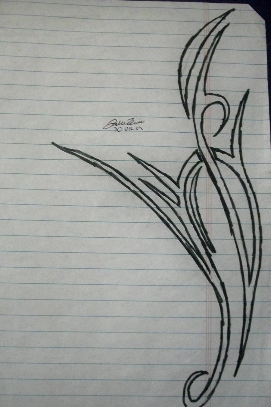 tattoo side design by cardtrickster on deviantart. Black Bedroom Furniture Sets. Home Design Ideas
