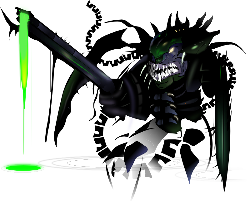 Tyranid - Inkscape by Seothen