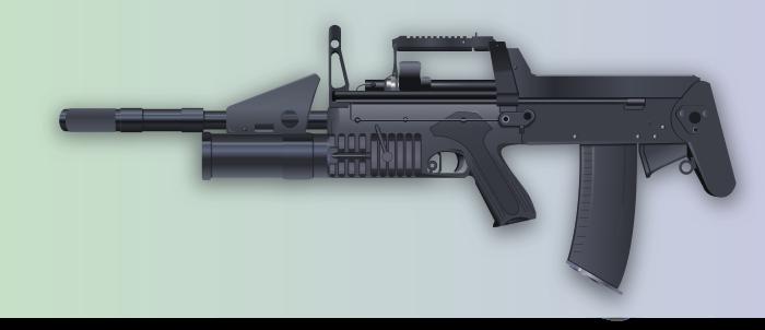 Russian ADS - Assault Rifle Vector by Seothen