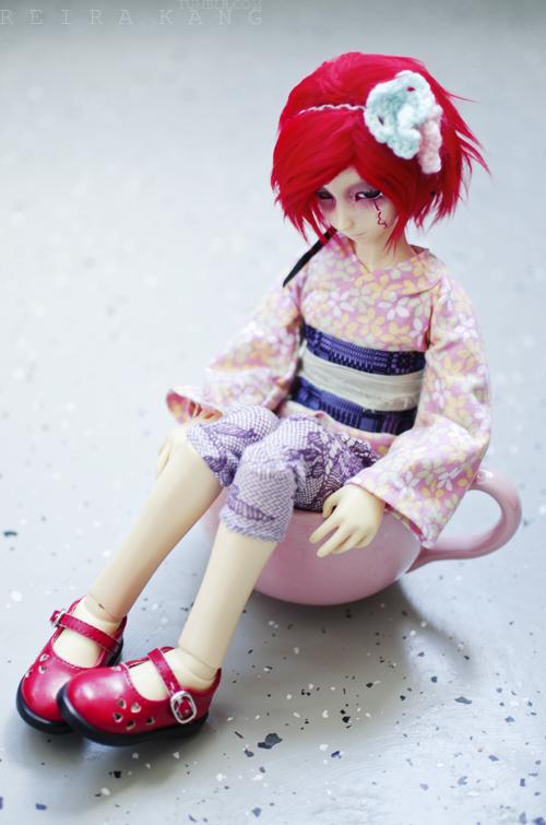 Pink Mug by reirakang