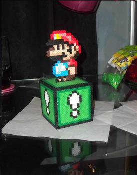 Mario Box Perler by Libbyseay