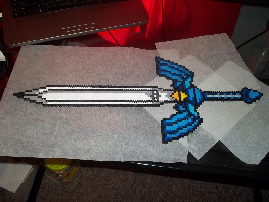 Master Sword Perler by Libbyseay