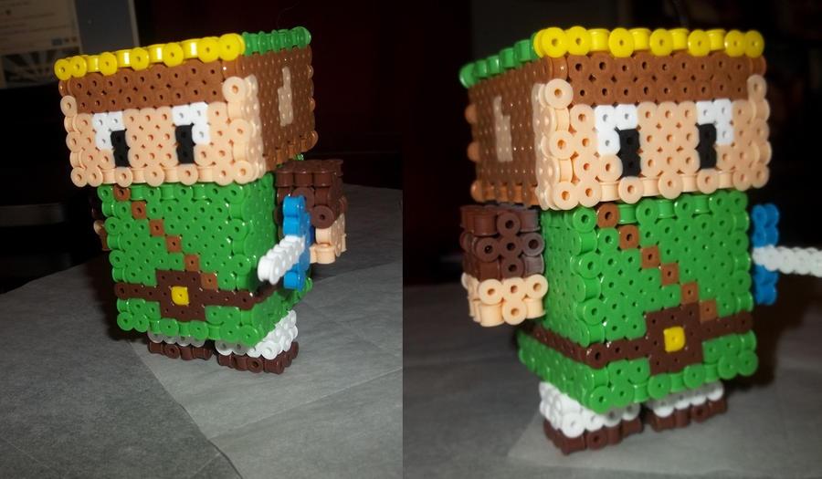 3D Link Perler by Libbyseay