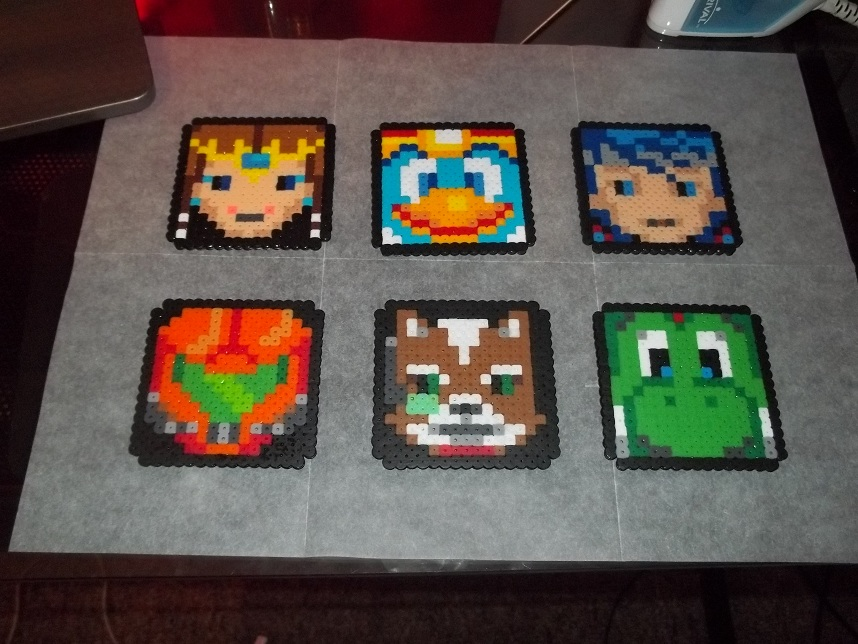 Brawl Perler Set 1 by Libbyseay