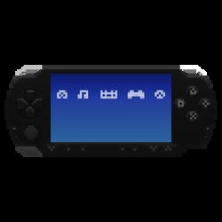 PSP in the Pixels (w/menu items)