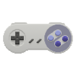 Snes Controller in the Pixels