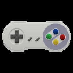 Snes Controller in the Pixels (alternate colors)