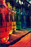Rainbow Bottles IV