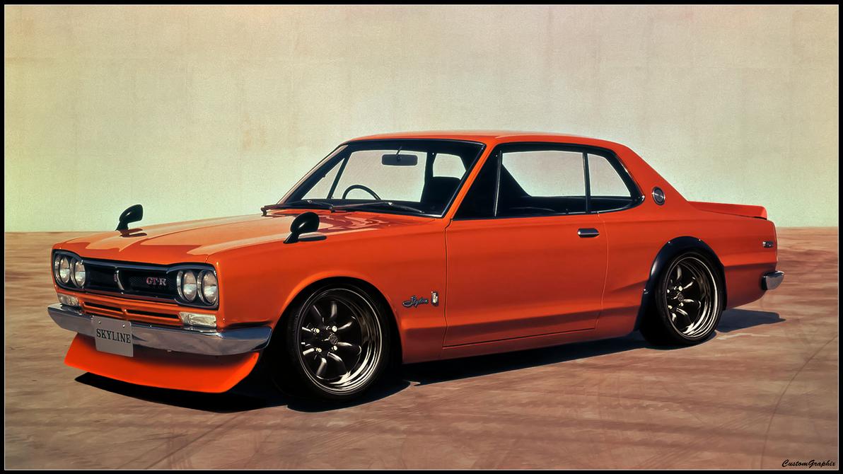 Nissan Skyline 2000 Gtr Original Image Below By