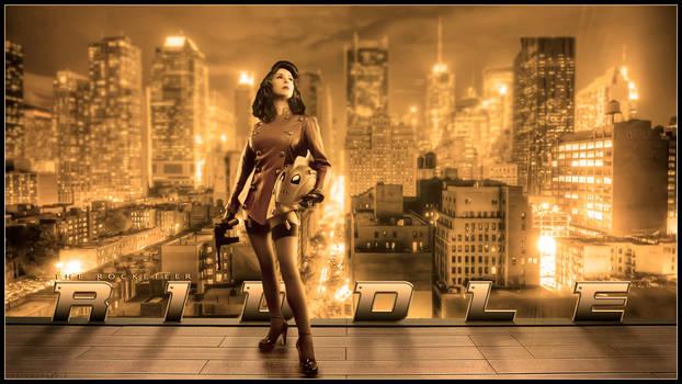 Riddle Rocketeer cosplay wallpaper