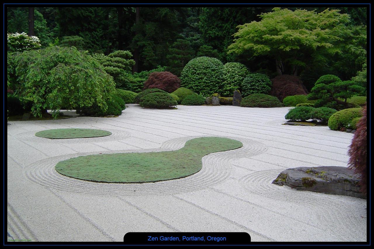 Zen Garden, Portland, Oregon by bentleyw on DeviantArt