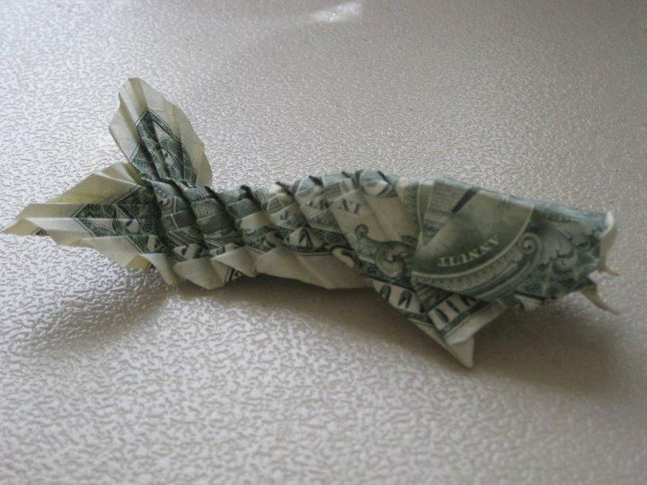 Dollar bill koi by saberfiretiger on deviantart for Dollar bill koi