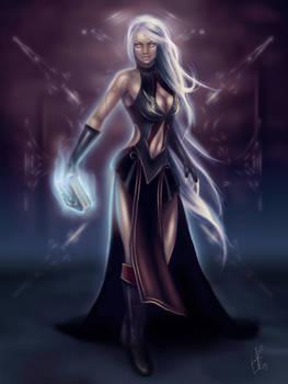 - Asmodian Sorceress - by Anathematixs