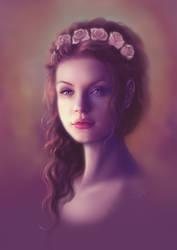 - Flowery speedpaint - by Anathematixs