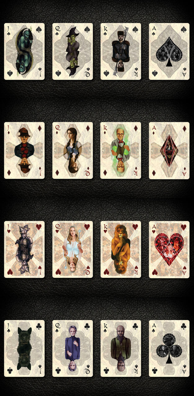 - Wizard of Oz Cards preview - by Anathematixs