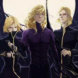 Team Blonde by fireillisa