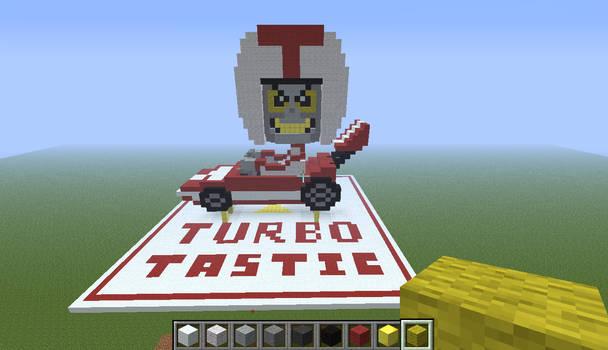 Turbo Invades Minecraft