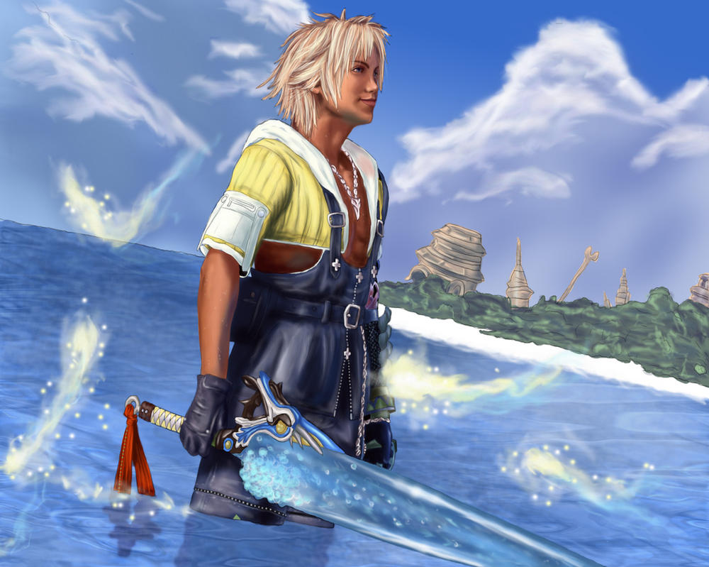 Tidus by Darthval on D...