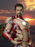 Iron Man 3 by Darthval