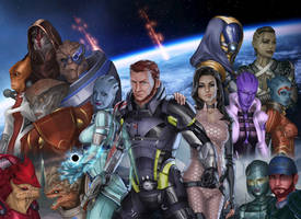 Mass Effect 3 by Darthval