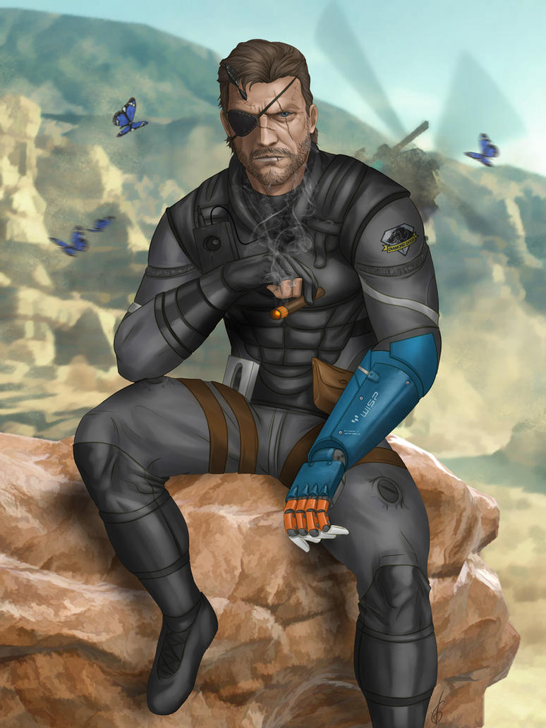 Venom Snake by Darthval