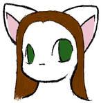 Diamondheart headshot doodle