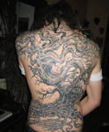 tree tattoo backpiece