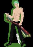 Sexy Zoro ! by Kizzichan