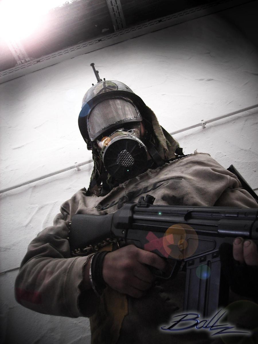 Post Apocalyptic Mercenary 03 by BaLLz-Graphics