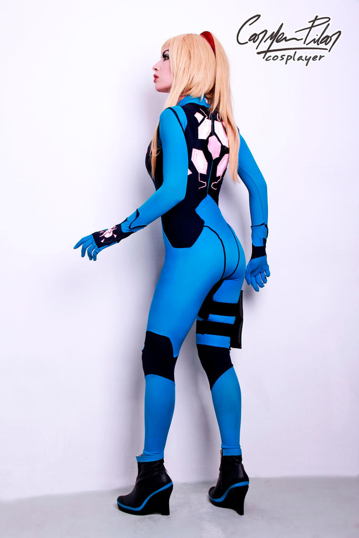 Samus Aran Zero Suit by DarkTifaStrife